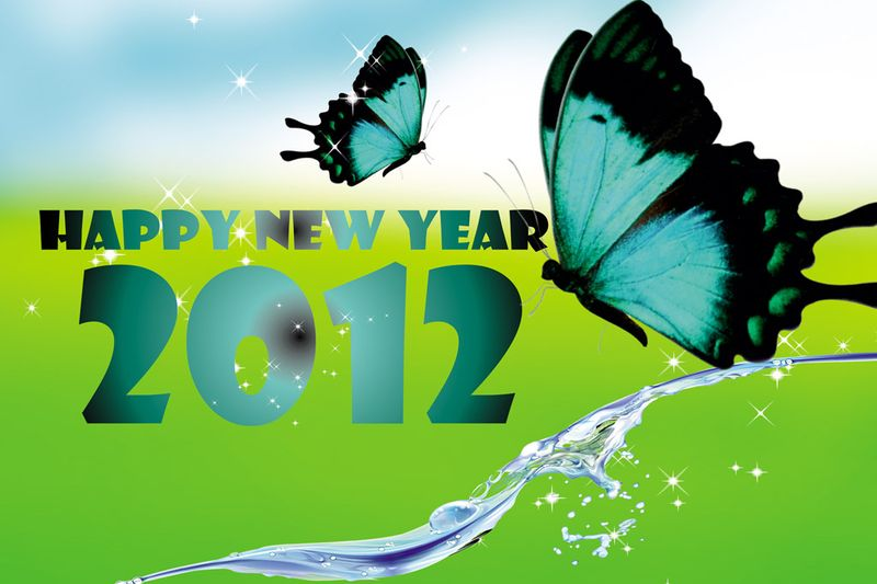 Happy new year 2012 hd wallpapers4