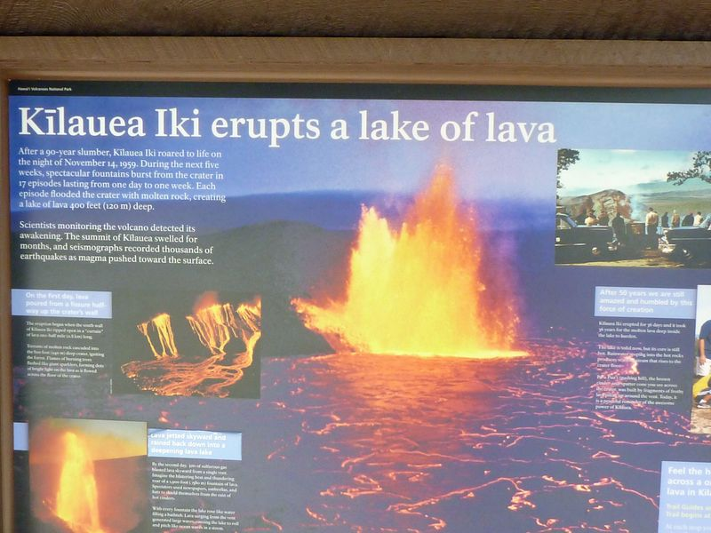 Description of Kilauea Iki Hike