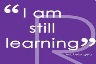 I am still learning